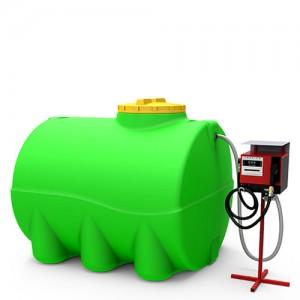 Мини АЗС горизонтальная 3000 литров
