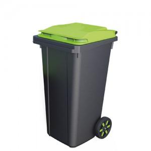 Контейнер для мусора пластиковый 120 литров