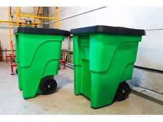 Новый продукт-пластиковые контейнеры для бытовых отходов